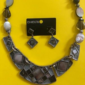 Chico's Necklace and Earrings